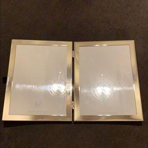 PB silver folder double frame